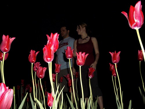 Jaye and Dee at the Rose Gardens