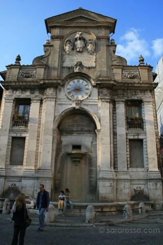 Mercato Clock in Spoleto