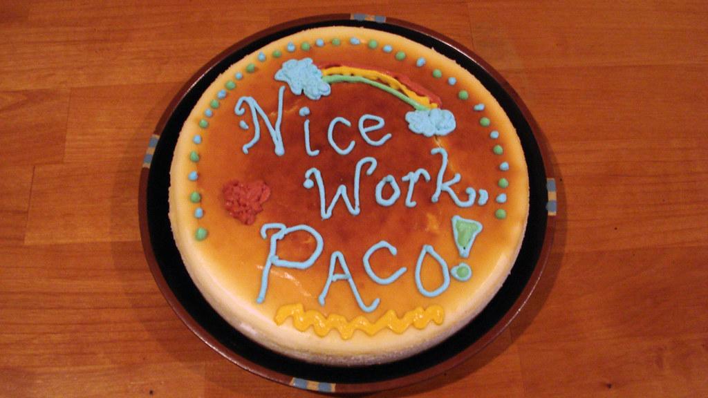 Nice work, Paco!