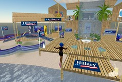 Hillary's campaign headquarters