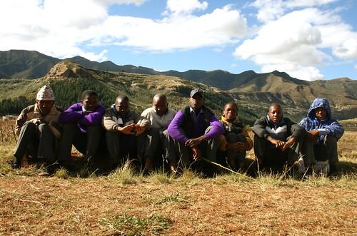 Hanging Back in Lesotho