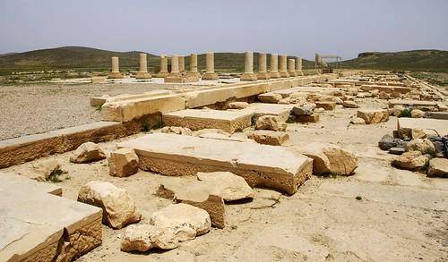 Cyrus the Greats Palace at Pasargadae.