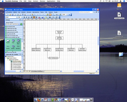Microsoft Visio funcionando sobre Mac