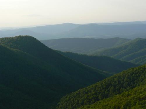 Ridges from Black Rock