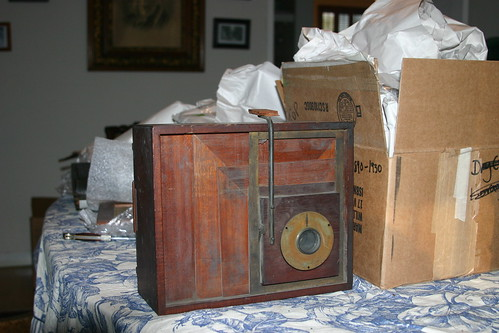 Penny frame camera.