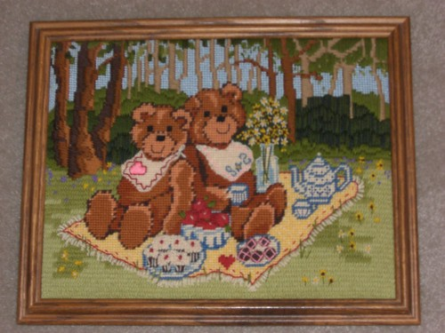 Needlework bears
