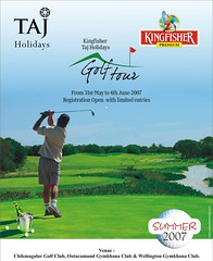 KINGFISHER Taj Holidays Golf Tour