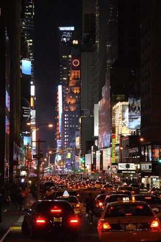 Times Square taillights von jbparker.