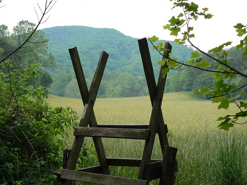 Stile on Appalachian Trail