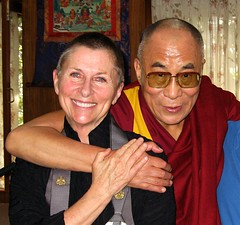 Roshi Joan, His Holiness the Dalai Lama