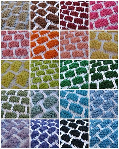 Dishcloth Mosaic