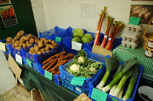 The Veg section