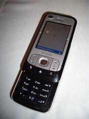 Nokia 6110 Navigator (slide open)