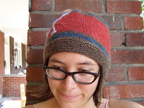 crosswalk hat - front