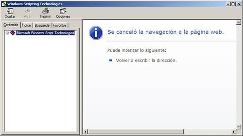 Problemas con los archivos CHM