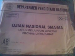 Amplop Ujian Nasional