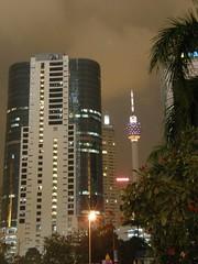 50.吉隆坡塔的夜景