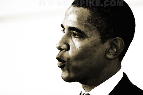 Obama on Flickr, by radiospike photography