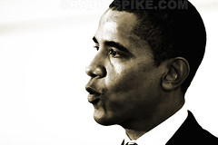 The Old White House and The New Black President, President Elect Barack Obama