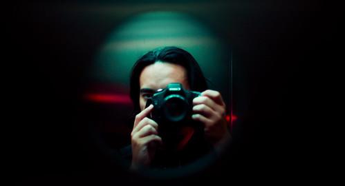 Self Portrait - Elevator