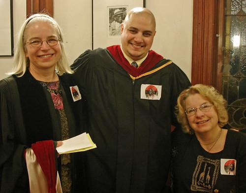 Rev. Dr. Rebecca Ann Parker, Barb Greve, and Patti Lawrence