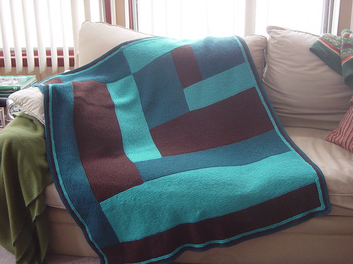 The Choc-qua blanket. I did not make this, nor did I take the picture, click on it to find out who did it.