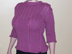 Gastby Girl sweater completed!