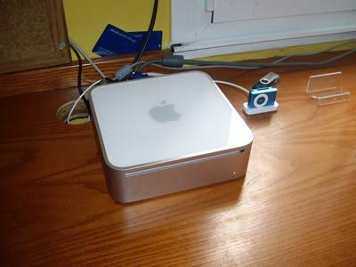 Primer plano del Mac Mini