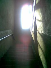 Escalera de Campus Oriente