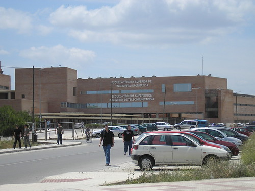 Campus Teatinos Universidad Malaga.