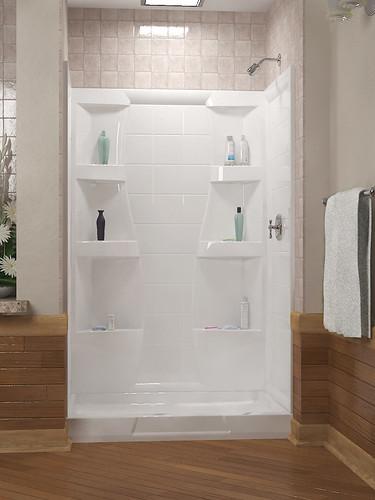 Doorless Shower Bathroom Designs