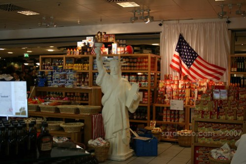 KaDeWe Welcoming American foodstuffs