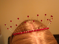 The first tiara I've ever made