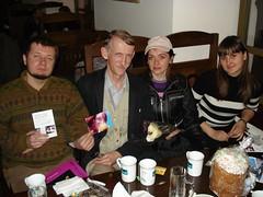Sergey, Viktor, Yulia, Alla - April 5