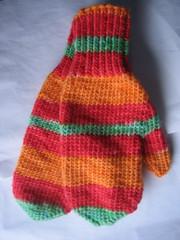 fruit loop mittens