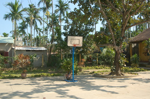 basketball court in vietnam