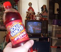 Jolly Rancher Cinnamon Cherry Fire Soda