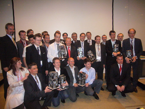 Participants of the First European NFC Competition