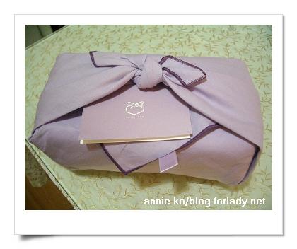 紫色的布包