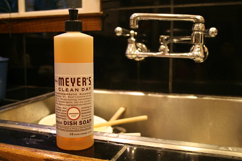 lavender dishwashing soap