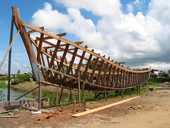Boat skeleton (East Coast Demerara, Guyana)