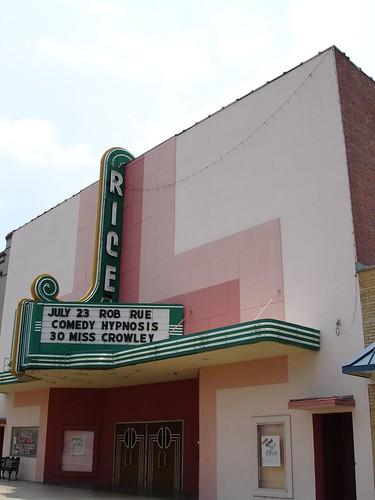 Rice Theater, Crowley LA