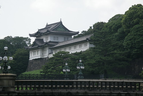 imperial palace - closeup