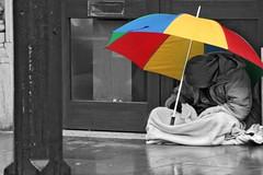 Homeless, Charing Cross, London
