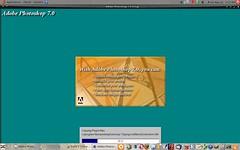 Photoshop installer running on Ubuntu Linux