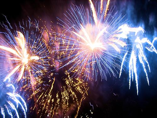 feu d'artifice 13 juillet rouen