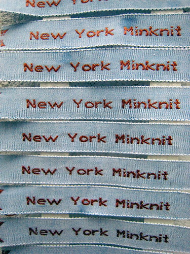New York Minknit Labels