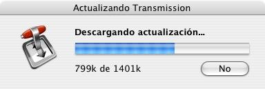 Transmission Update