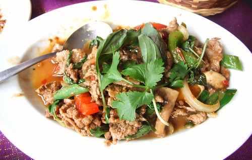 Crown Thai - Chilli Beef with Basil