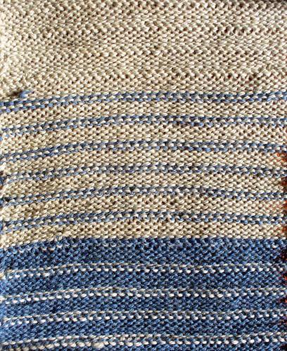 Cording Stitch Backside